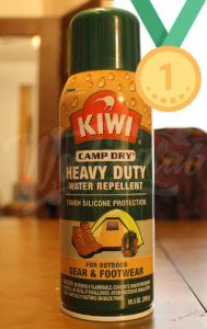 Kiwi Waterproofing spray