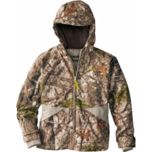 cabelas youth insulated hooded jacket