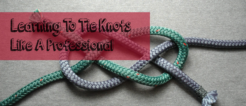 learning to tie fly fishing knots