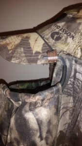 BunkerHead hunting face mask clips