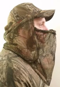 BunkerHead hunting face mask right